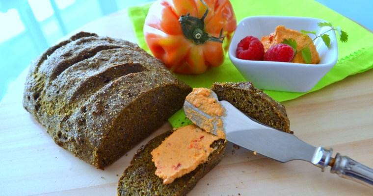 Buchweizen-Hanf-Brot – vegan und glutenfrei