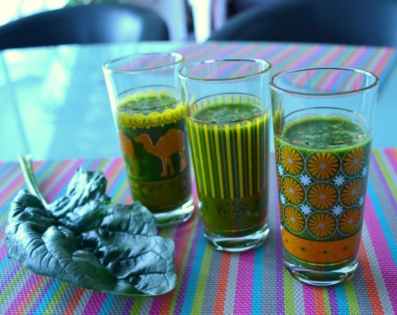 Der Gewinner-Smoothie – mit Superfood Clorella, Weizengras und Maca