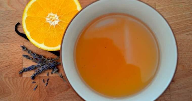 Punch di arancia e lavanda