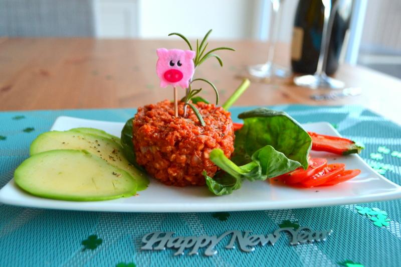 Capodanno – Tartare vegana e senza glutine!