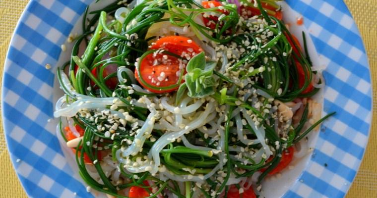 Spaghetti Mediterraneo – Low Carb – vegan und glutenfrei