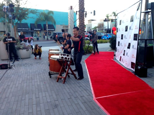 Tokyo Table Grand Opening Taiko Drummers