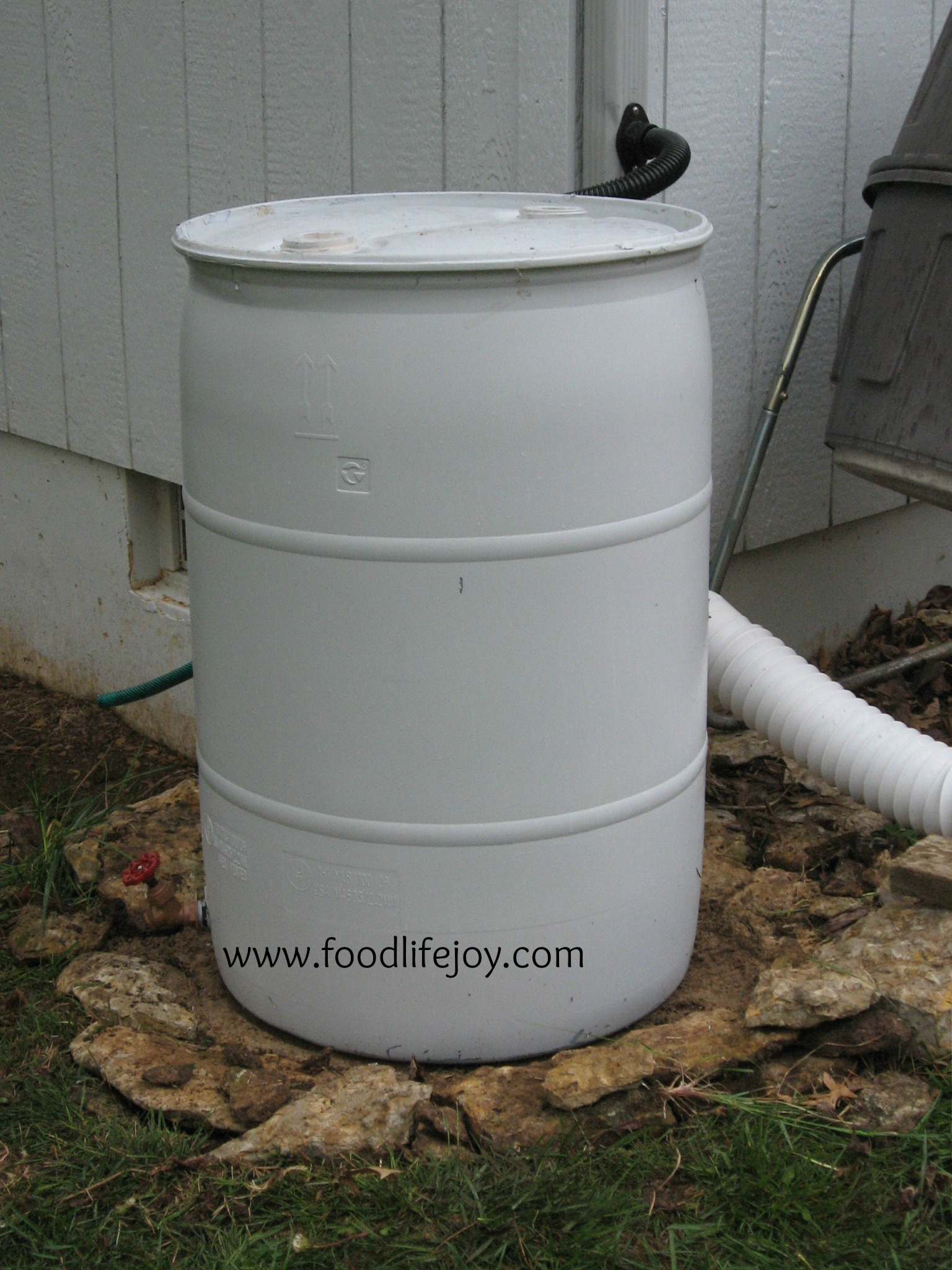 Rain Barrel Lessons: Paint and Drain