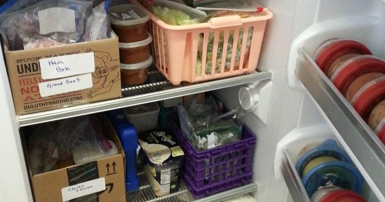 Best Freezer Organization-Box Method!