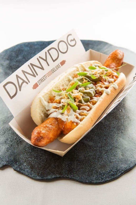 De bakburgerfiets: hamburgers en hotdogs