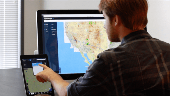 ForeFlight Web syncs to your iPad