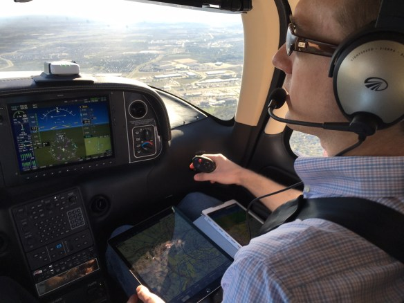 Flight testing with iPad Pro