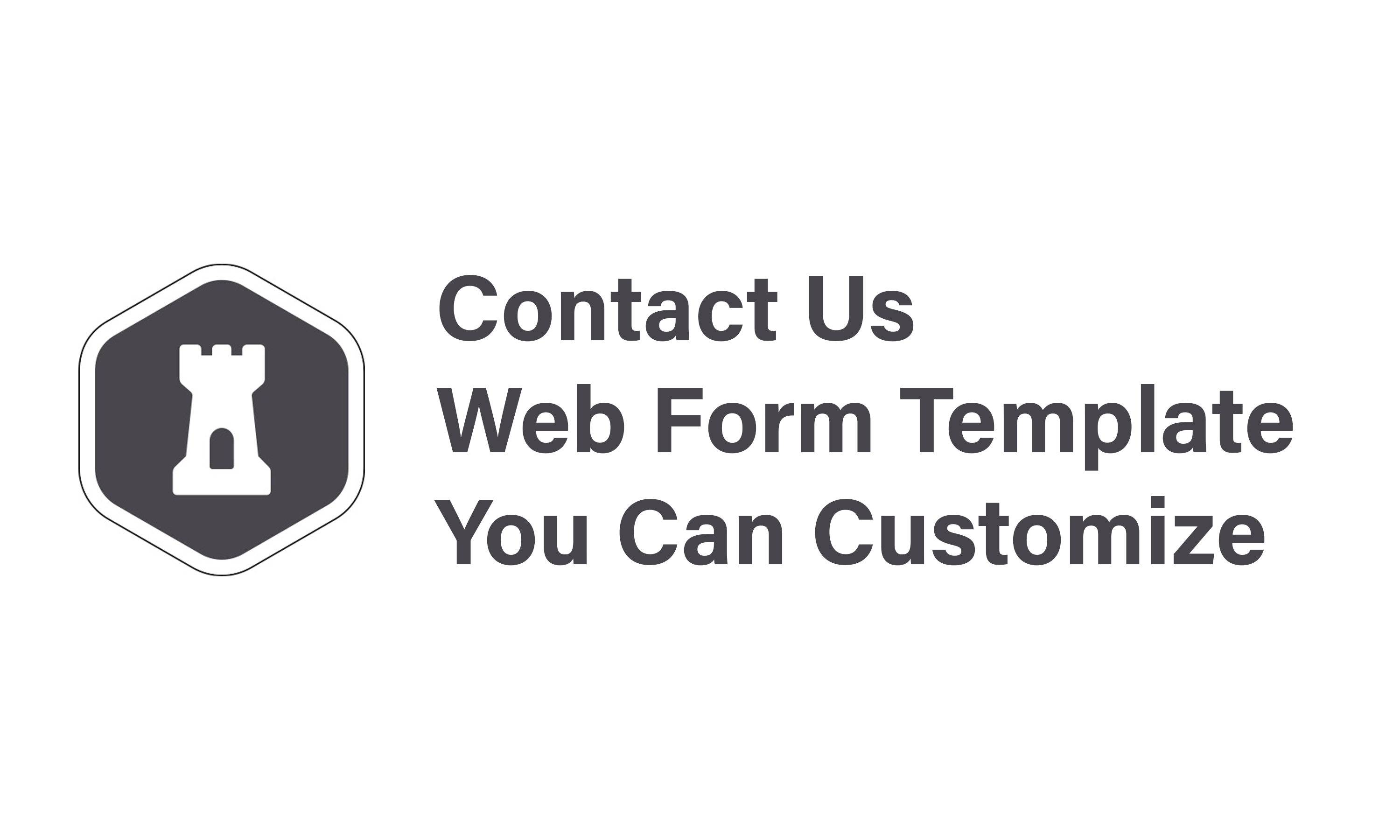 Sample Contact Us Form Template You Can Customize