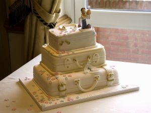 simple fondant wedding cake ideas