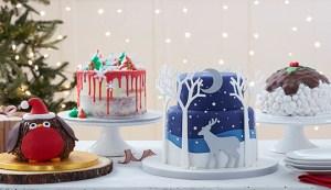 Cómo combinar bases para tartas con Navidad 3