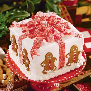 Cómo combinar bases para tartas con Navidad 4