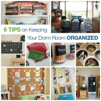6 Tips for Keeping Your Dorm Room Organized @AptsForRent