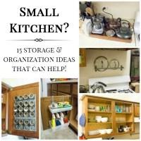 15 Small Kitchen Storage & Organization Ideas