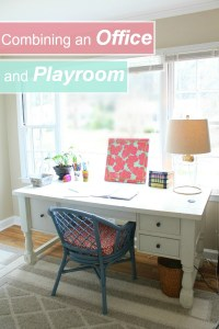 Three Steps to Combining an Office + Playroom Space ...