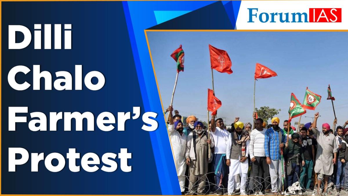 Dilli chalo farmer's protest