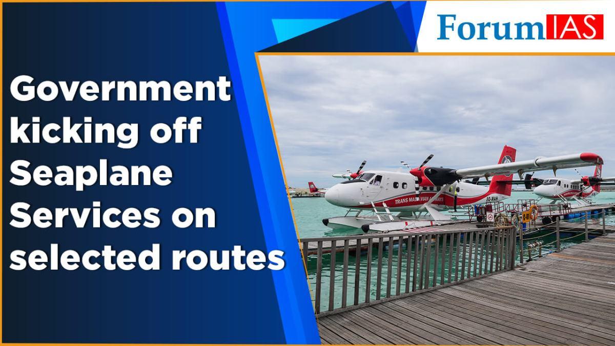 GovernmentkickingoffSeaplane-ServicesonselectedRoutes