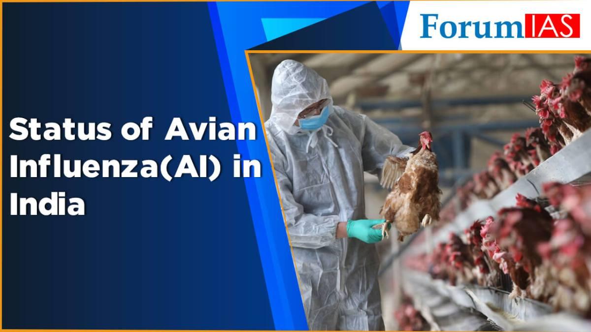 Status of Avian Influenza(AI) in India