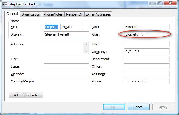 Determine Your Outlook Web Access URL  Stephen Foskett Pack Rat