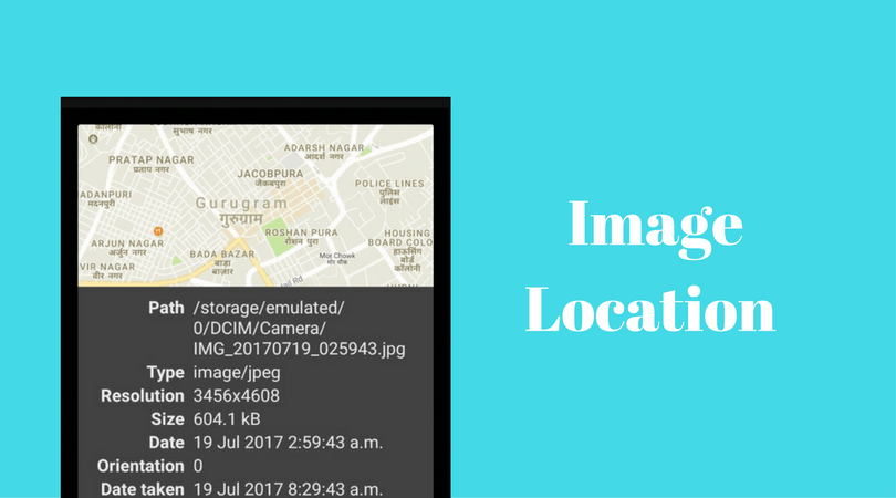 Using Map View to Display Location of Clicked Image in Phimpme