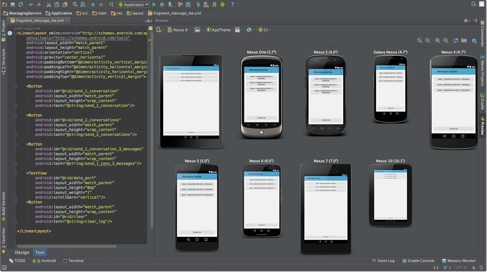 Creating Multiple Device Compatible Layouts in PSLab Android