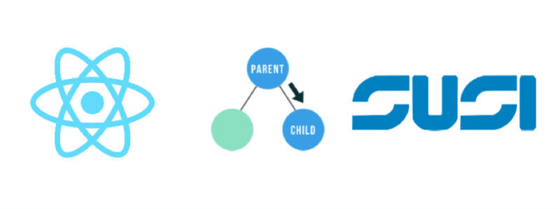 Communicate between Child and Parent Components in React JS of SUSI Web Chat