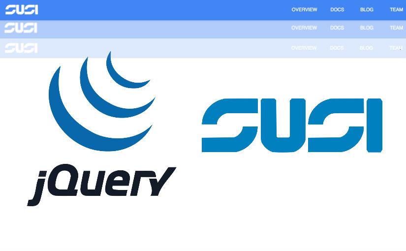 Implementing Hiding App Bar of SUSI Web Chat Application