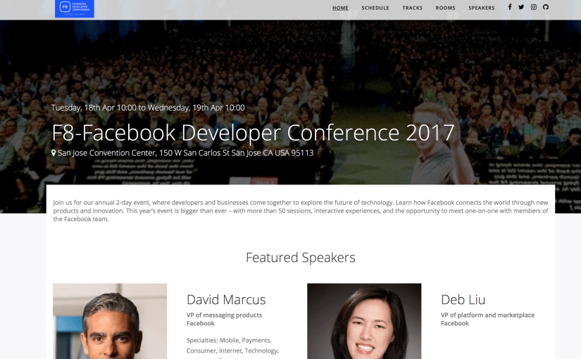 Creating A Sample Event Web App Using the Open Event Framework