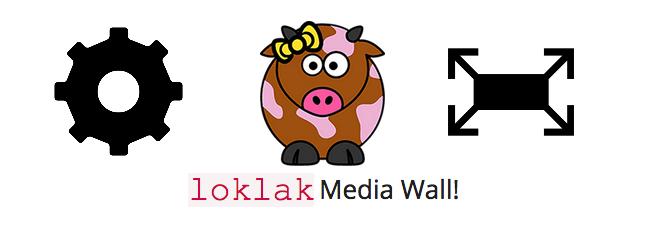 Introducing Customization in Loklak Media Wall