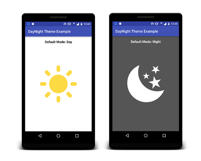 Using Day Night Theme in SUSI Android