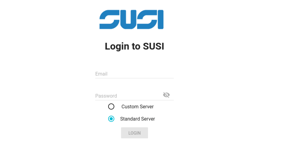 Implementing Login Functionality in SUSI Web Chat
