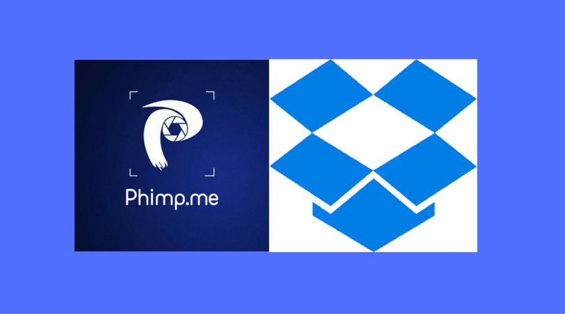 Uploading images to Dropbox from the Phimpme App