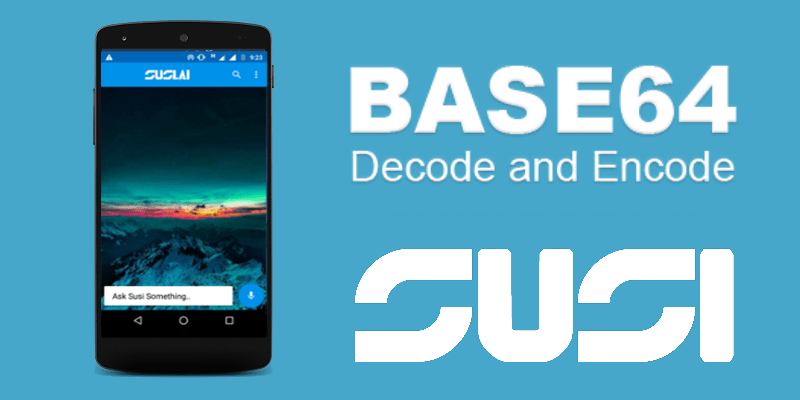 Encoding and Saving Images as Strings in Preferences in SUSI