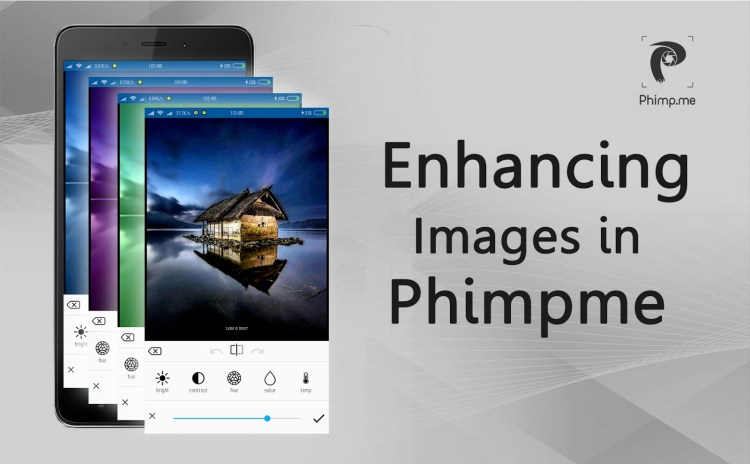 Enhancing Images using Native functions in Phimpme Android