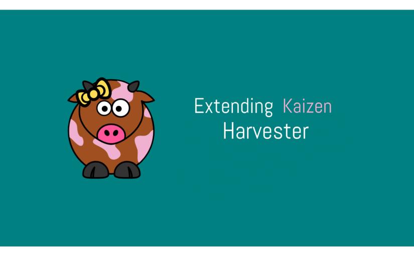 Making loklak Server's Kaizen Harvester Extendable