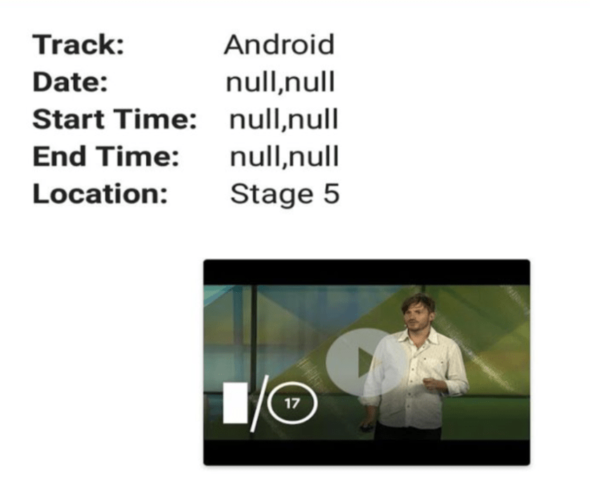 Enabling Live Streaming of Sessions in the Open Event Android App