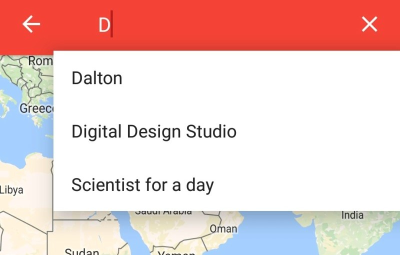Add Autocomplete SearchView in Open Event Android App