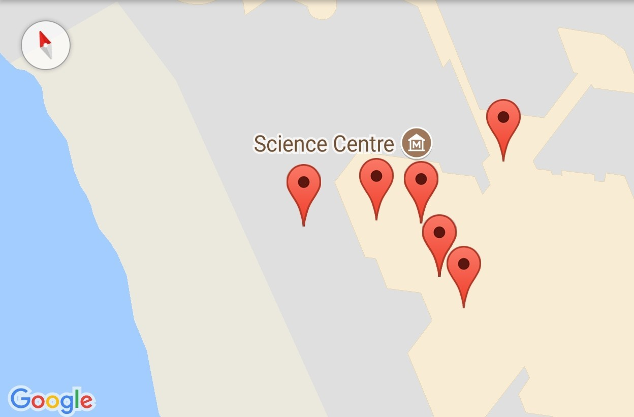 How to add Markers in Map Fragment of Open Event Android App