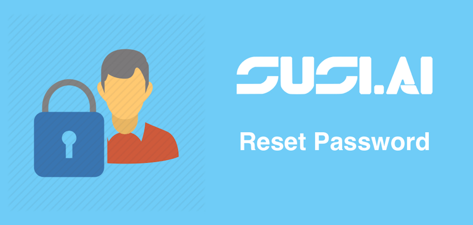 Reset Password Functionality in SUSI iOS
