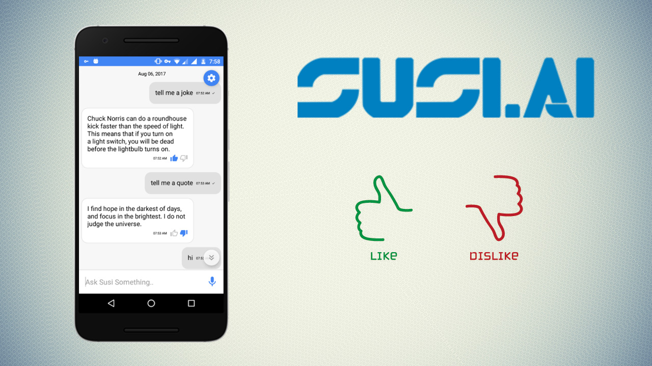 Implementing Feedback Feature in SUSI Android App