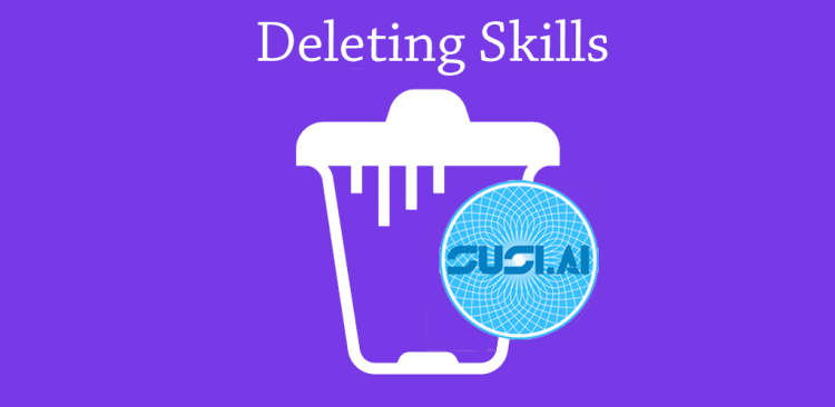 Deleting SUSI Skills from Server