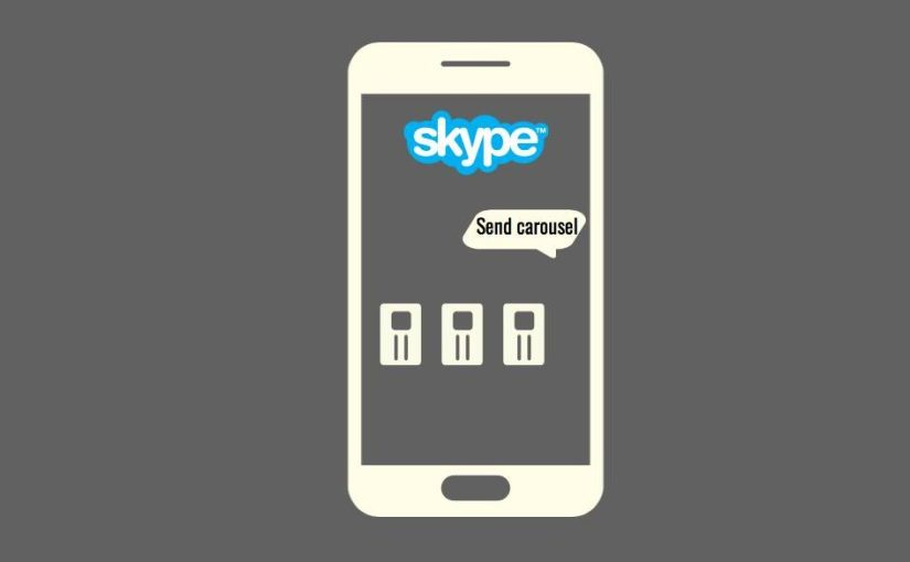 How to Receive Carousels from SUSI Skype Bot