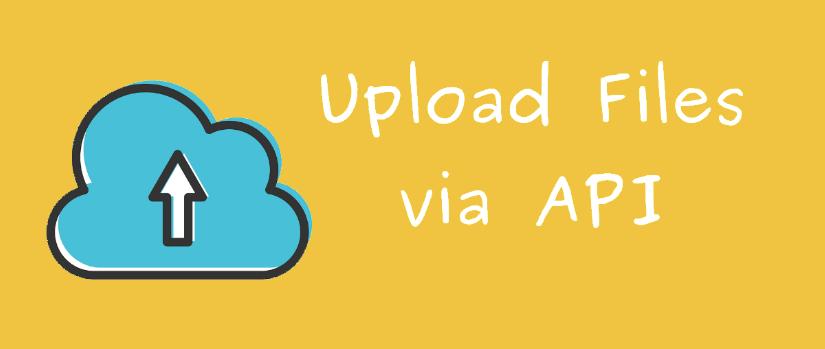 Uploading Files via APIs in the Open Event Server
