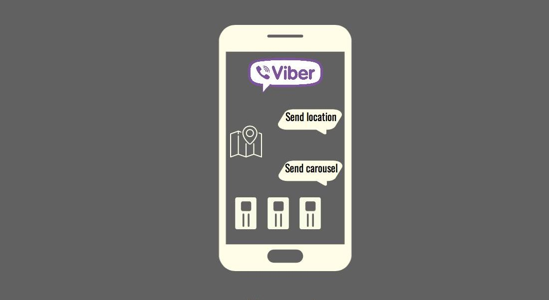 Showing Url, Location and Carousel Responses in Viber Bot