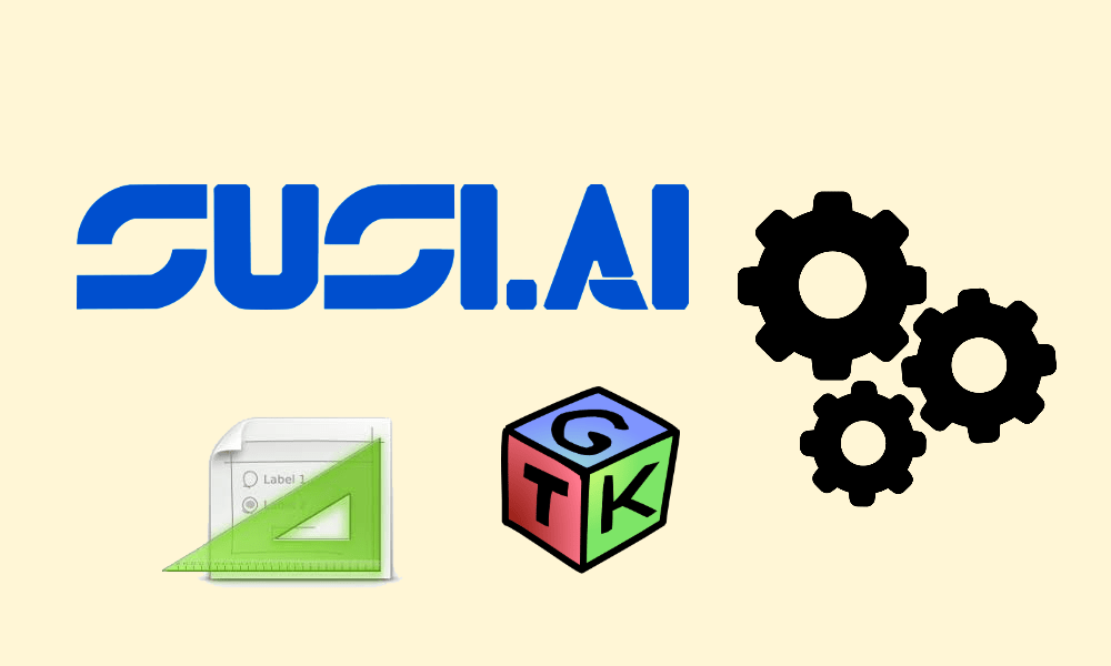 Creating GUI for configuring SUSI Linux Settings