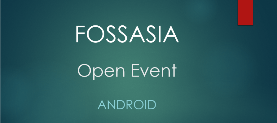 Contributing to Open Event Android App