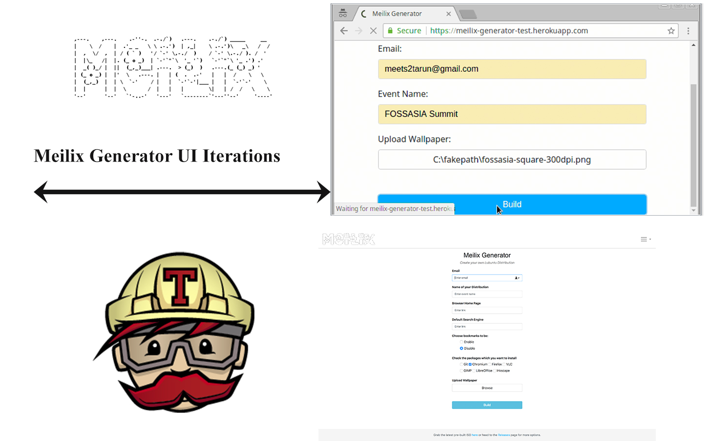 Implementation of Features in Generator UI