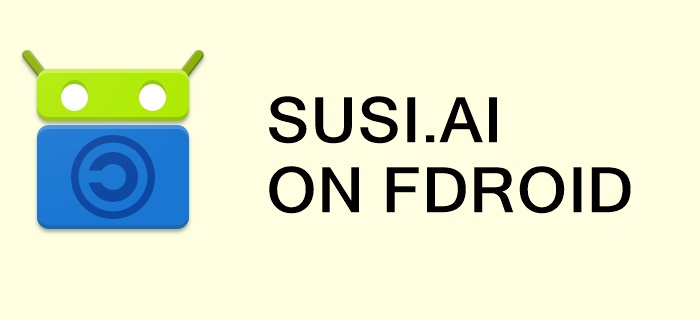 Building SUSI.AI Android App with FDroid