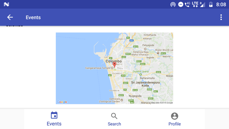 Integrate static maps API in an android project
