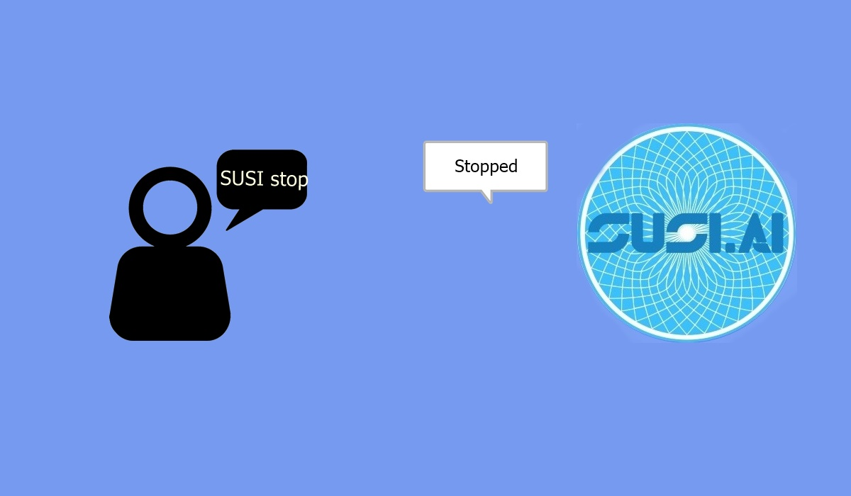 """STOP"" action in SUSI Android App"