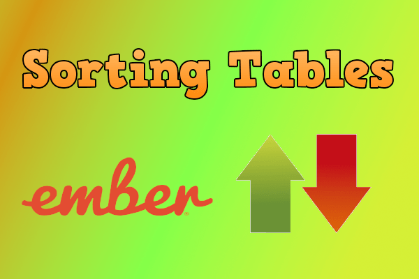 Implement Table Sorting In Badgeyay